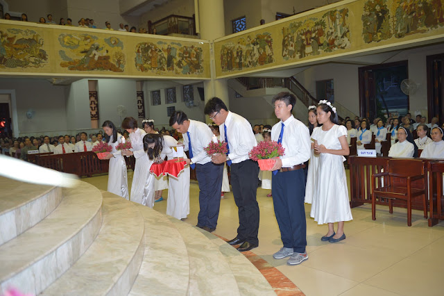 Lễ khai mạc kỷ niệm 50 năm thành lập Giáo xứ Thánh Đaminh