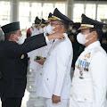 Awali Hari Kerja Perdana, Bupati Didampingi Wakil Bupati Humbahas Pimpin Apel Gabungan ASN Humbahas