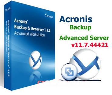 [PCソフト] Acronis Backup v11.7.44421