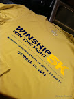 I loved running this race and supporting Winship and the great work that they do. However, this is hands down the UGLIEST race shirt I've ever seen. It's the color of dirty khakis and the fit is so bizarre!