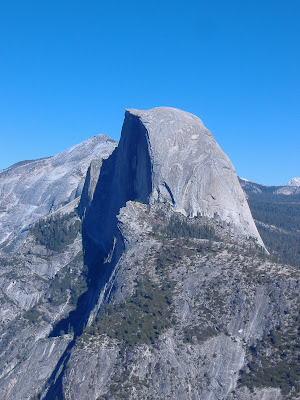 The view from Glacier Point©backpackthesierra.com
