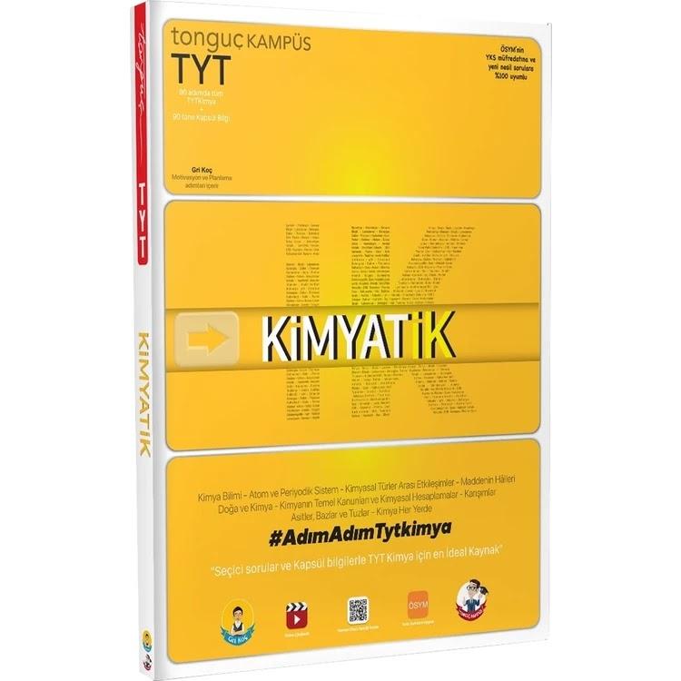 Tonguç Yayınları - TYT Kimya - Kimyatik Soru Bankası