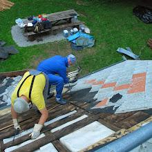 Delovna akcija - Streha, Črni dol 2006 - streha%2B046.jpg