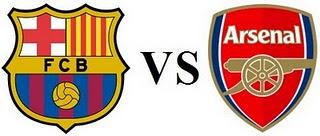 مشاهدة مباراة برشلونة وارسنال بث مباشر