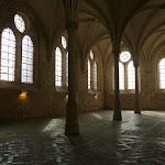 Abbaye de Royaumont : réfectoire des moines