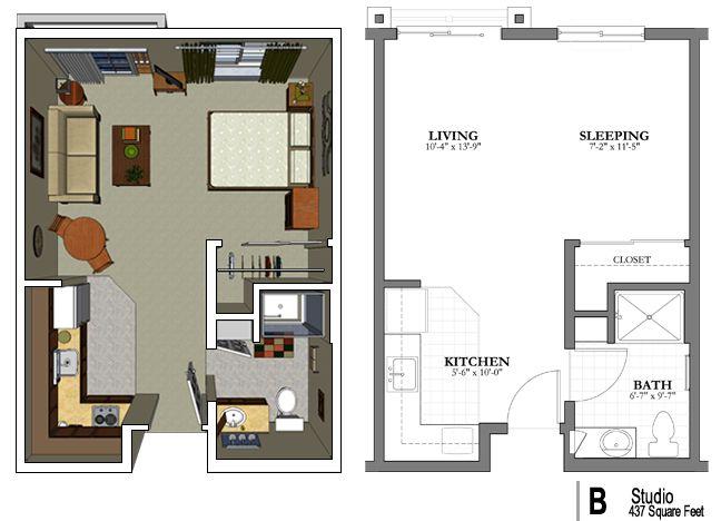 Homes Hub Small Apartment Floor Plans