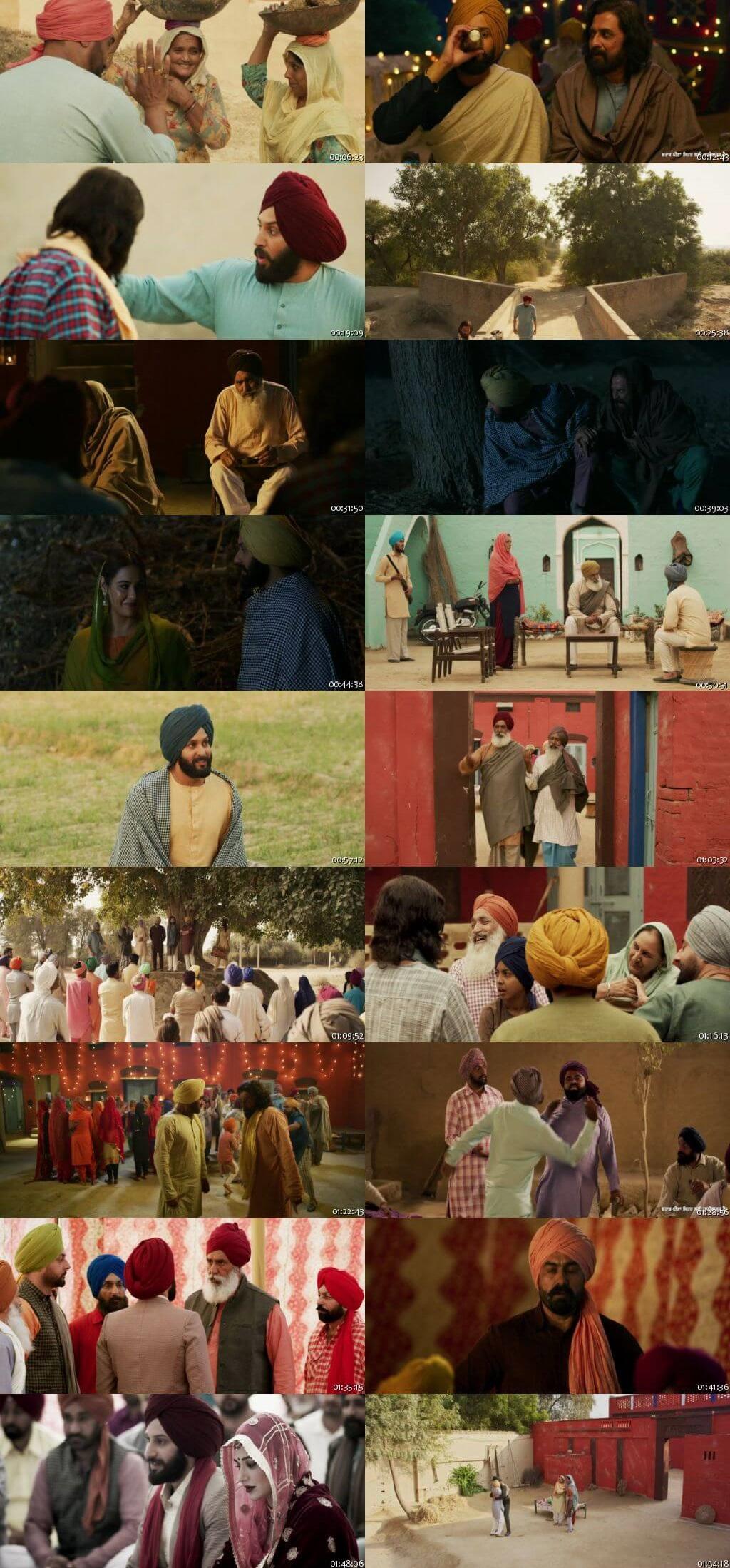 Screen Shot Of Saak 2019 300MB HDRip 480P Full Punjabi Movie Watch Online Free Download