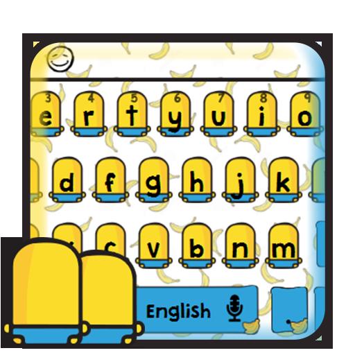 Cool Banana Yellow Keyboard