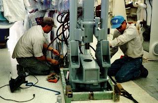 Installing Contamination Monitoring Wells