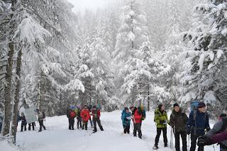 Corso Escursionismo in Ambiente Innevato 2015