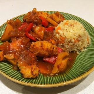 "Sweet 'n' Sour ""chicken"" With Vegetables"