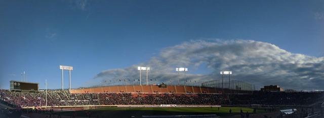 国立競技場パノラマ写真