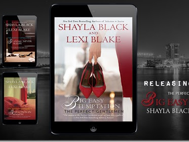 Spotlight: Big Easy Temptation (Perfect Gentlemen #3) by Shayla Black and Lexi Blake + Teaser and Excerpt