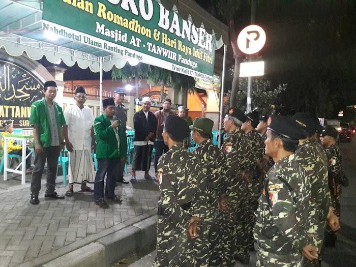 Ansor-Banser Surabaya Buka Posko Idul Fitri di MERR