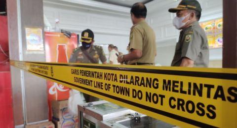 Terkait Pajak, Ayam Geprek Bensu Disegel Pemkot Bandar Lampung