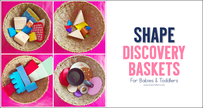 Shape Discovery Baskets for Babies and Toddlers