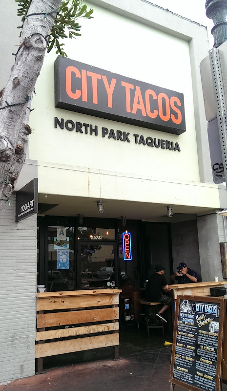 photo of the outside of City Tacos