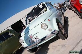 Baby Blue Fiat 500