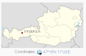 This is Innsbruck. It's as close as civilization gets to the Stubai glacier.
