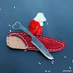 kovaný nůž se srdcem a červenou pochvou (7).JPG