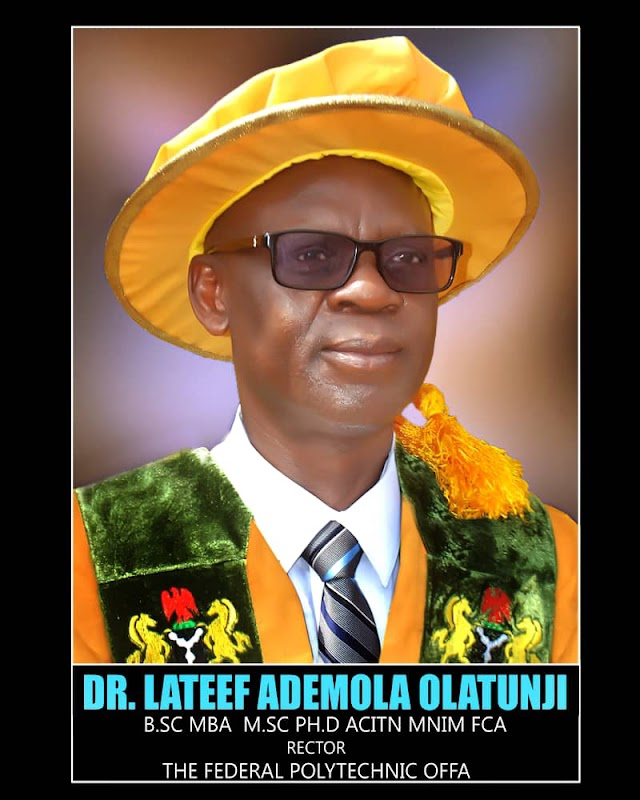 IJMB Writes Fedpoffa Management,  Commends Rector As  The  Polytechnic Ranks Best Out Of 97 Centers In Nigeria