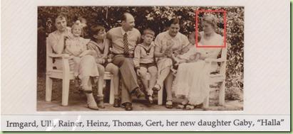 Irmgard Ulli Rainer Heinz Gert Gaby - Halle emphasized