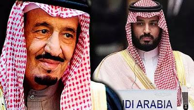 Raja Saudi pecat putera mahkota, lantik anak sendiri