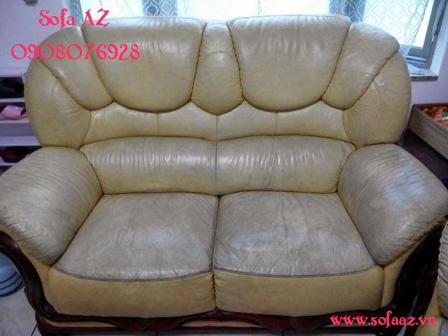 Bọc ghế sofa da bò cao cấp - Sửa sofa da bò cũ quận 7