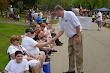 Thanking a Vet at Memorial Day Parade 2
