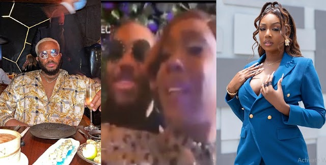 'Your Fans Will Be Thinking Rubbish' — Tolanibaj Tells Kiddwaya After He Kissed Her Cheek (Video)