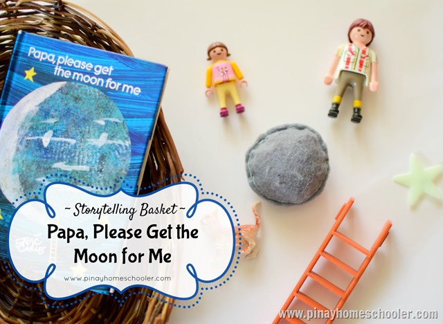 Papa, Please Get The Moon For Me Storytelling Basket