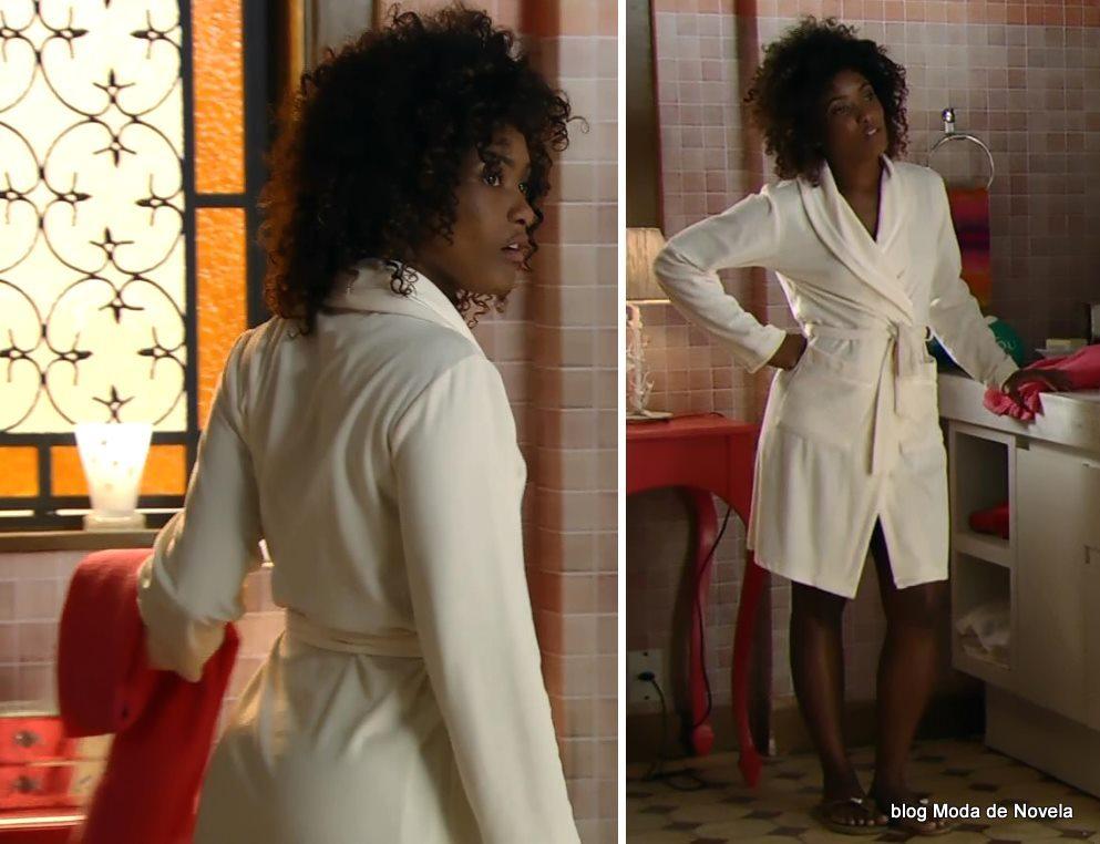 moda da novela Em Família - look da Alice dia 17 de maio