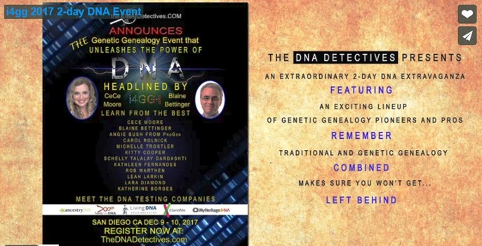 DNA detectives flyer