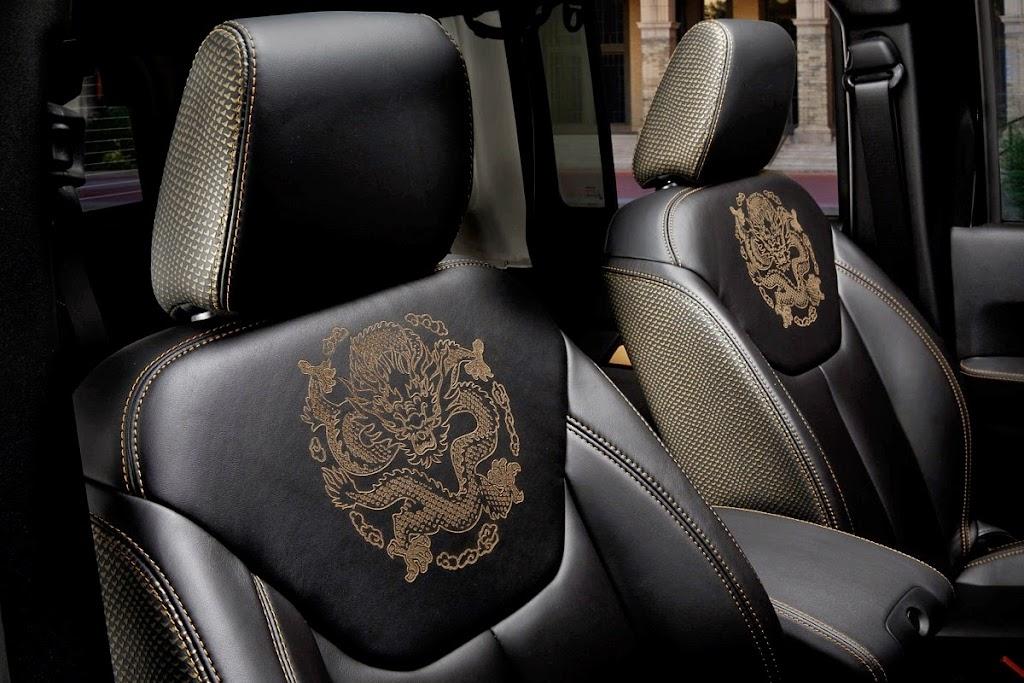 Jeep Wrangler Dragon Edition Interior 3