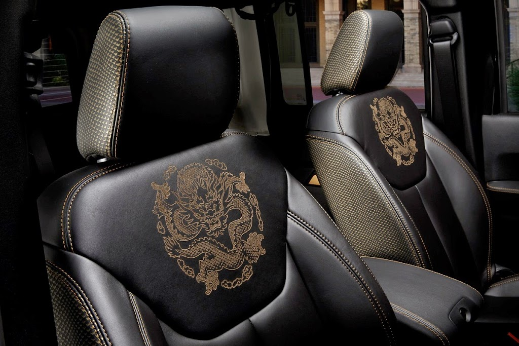 Jeep Wrangler Dragon Edition Interior 3