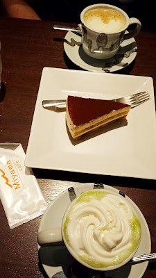 A stop at Miyama Cafe for drinks and Tiramisu. I loved how ubiquitous it is to get green tea lattes with almond milk
