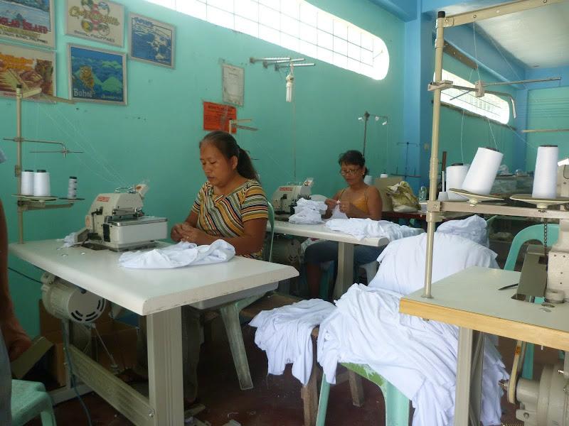 Atelier de fabrication de teeshirts