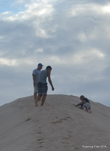 Uh! Oh!  Don't roll down that hill!