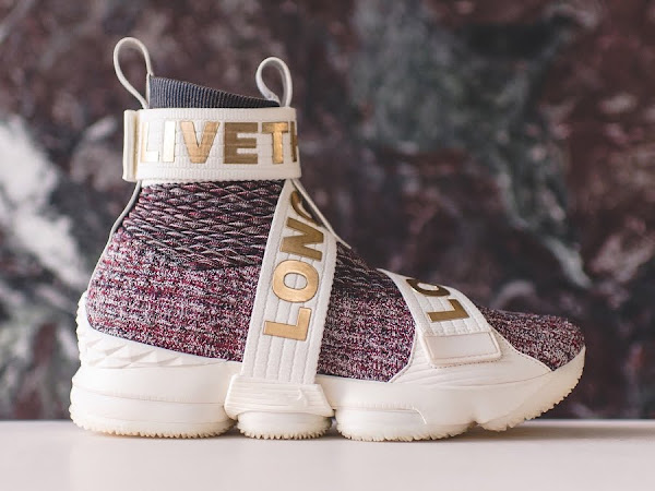 Ronnie Fieg Shows 3 Different Ways to Rock Strapped Kith LeBron 15s