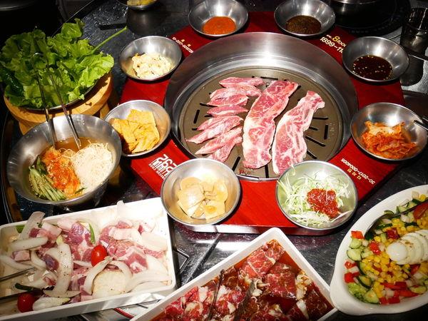 8292烤肉 - 台北東區韓式烤肉推薦,原塊肉品烤起來最爽快,多種經典韓式餐點,最適合多認下班後聚餐