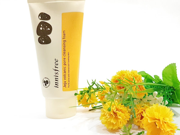 [Review] Innisfree Jeju Volcanic Pore Cleansing Foam