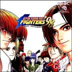 the king of fighters 98 neo geo cd cover art