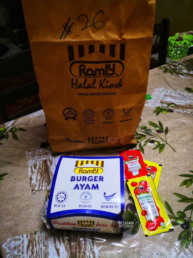 Dinner Ramly Burger