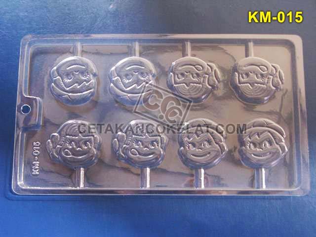 Cetakan Coklat KM015 KM KM15 cokelat lolipop anak lollipop lolypop