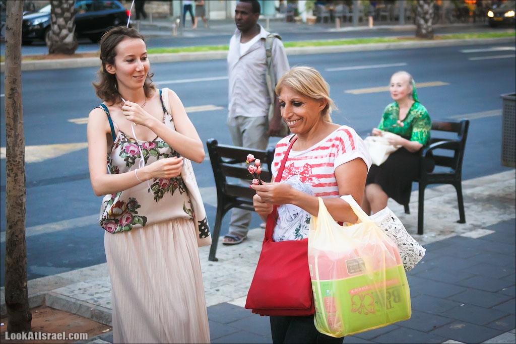 Первый флешмоб женственности | LookAtIsrael.com - Фотографии Израиля и не только...