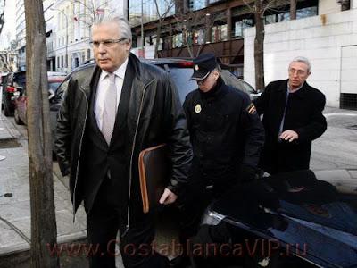 Baltasar Garzón, Бальтасар Гарсон, арест Бальтасара Гарсона, CostablancaVIP