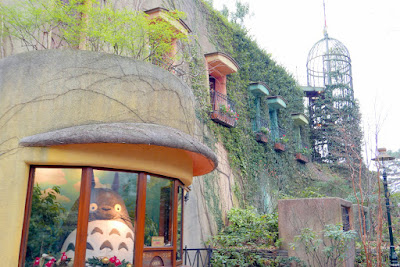 Ghibli Museum having all this green on it seems as expected since so much nature as part of the theme in the studio films