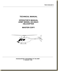 Bell OH-58A_C Kiowa Aircrew Training Manual