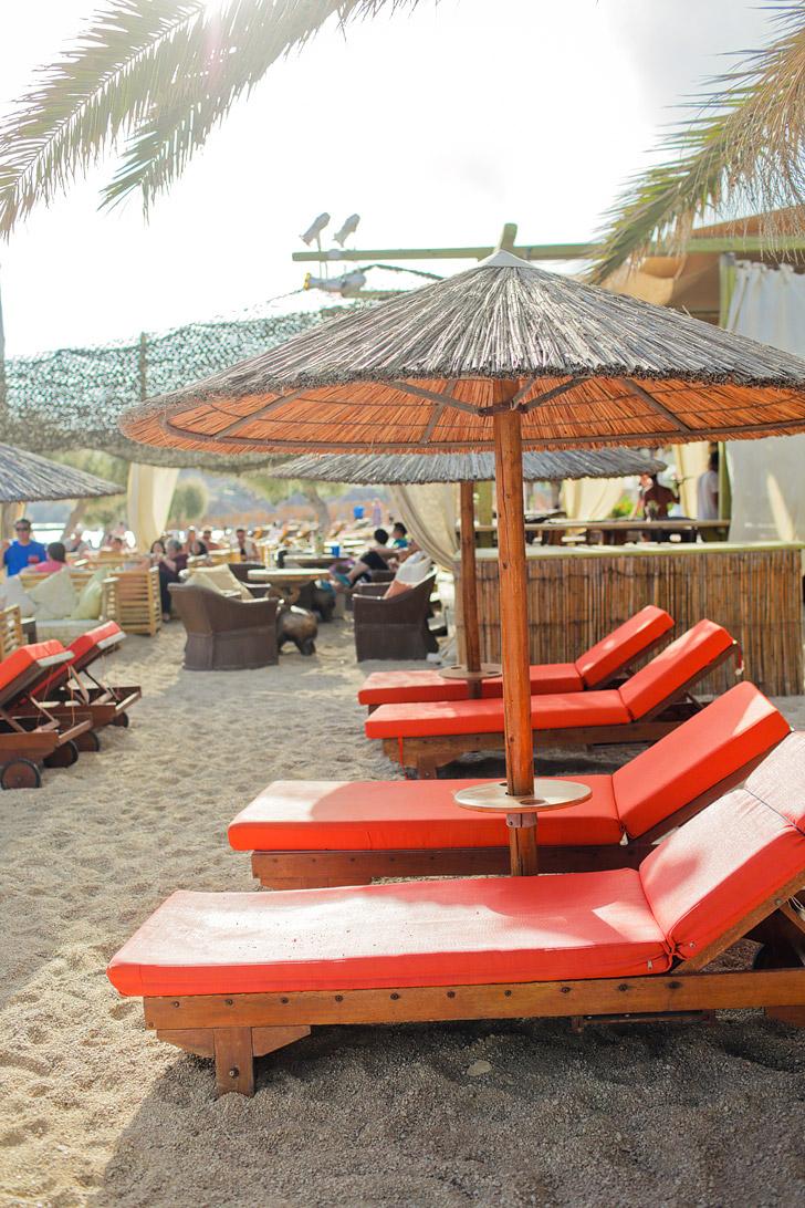 Mykonos Paradise Beach - Best Parties in Mykonos Greece.