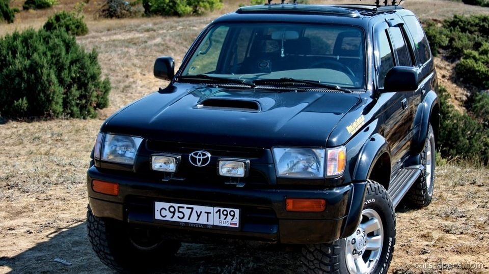 1996 toyota 4runner suv specifications pictures prices. Black Bedroom Furniture Sets. Home Design Ideas